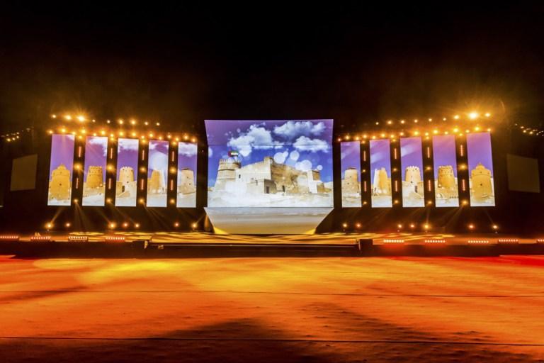 """""""فخرك يا وطن"""" أضخم أوبريت مسرحي غنائي على مستوى الإمارات احتفالاً بالعيد الوطني الـ 45"""