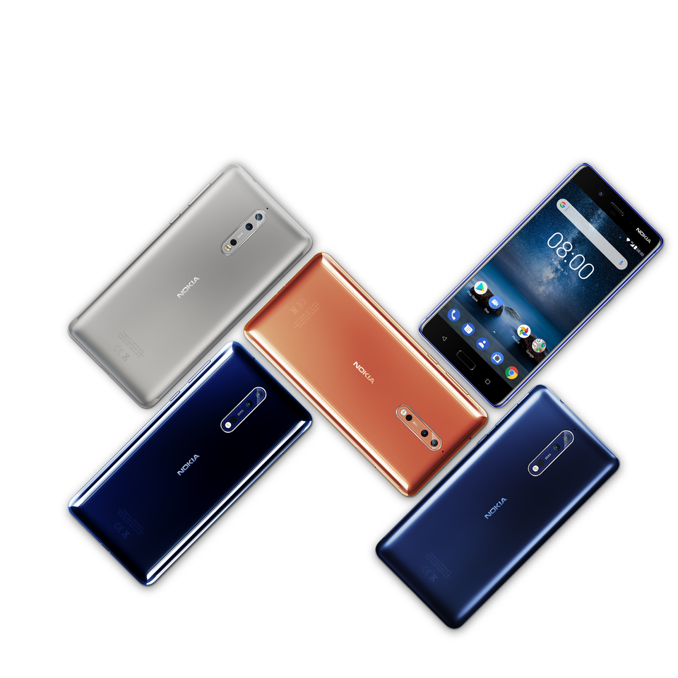 نوكيا 8 ثلاث مزايا متفوقة تقدم لأول مرة في هاتف ذكي