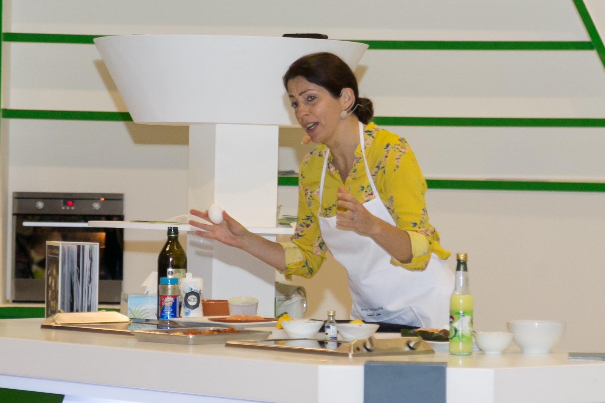 أخصائية التغذية جيني تشيشيه تقدم مجموعة من وصفاتها الصحية