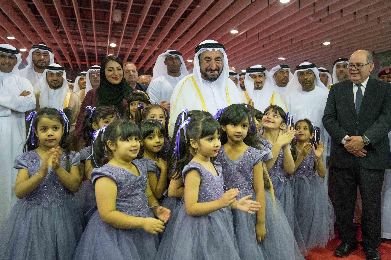 سلطان القاسمي يفتتح مهرجان الشارقة القرائي للطفل