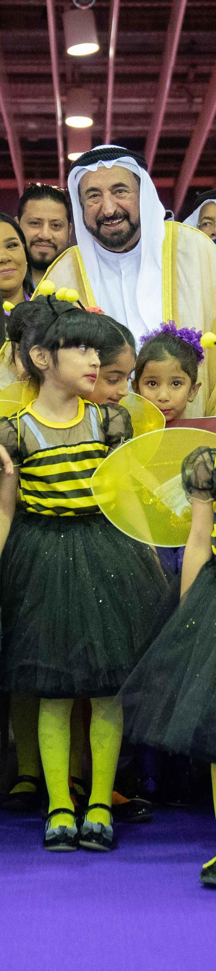 حاكم الشارقة يفتتح الدورة الـ 11 من مهرجان الشارقة القرائي للطفل