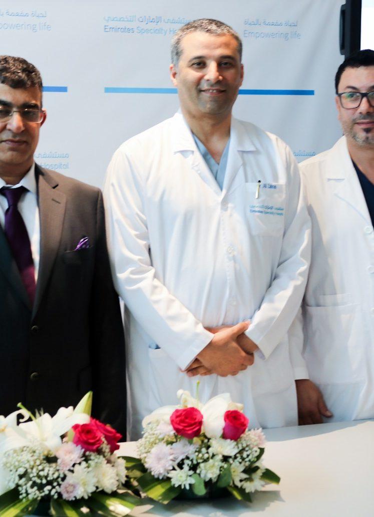 """""""مستشفى الإمارات التخصصي"""" ينقذ حياة مريضة باستئصال ورم ضخم من داخل الدماغ"""