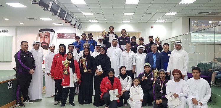 نادي الذيد يختتم بطولة اليوم الوطني الـ 48 للرماية