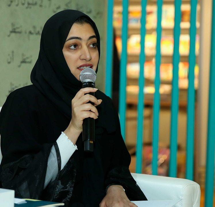 """شيخة المطيري وأشرف جمعة يشدوان عذب القصائد في """"الشارقة الدولي للكتاب"""""""