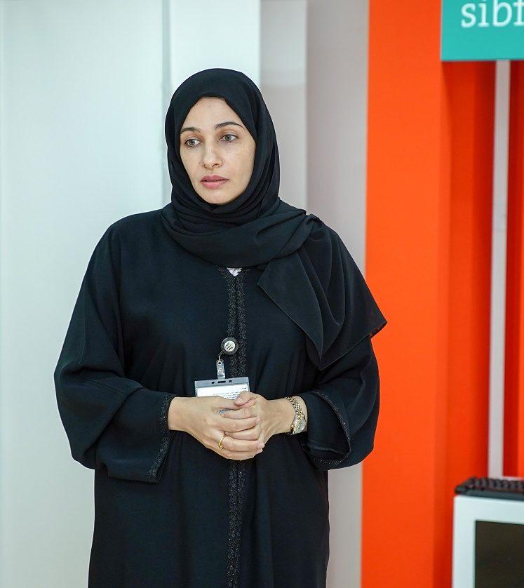 عائشة الحسنى.. معرض الشارقة للكتاب بوابة لنشر التوعية فى المجتمع