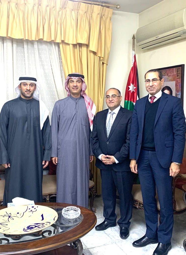 ثقافية الشارقة تبحث أفق التعاون مع وزارة الثقافة الأردنية