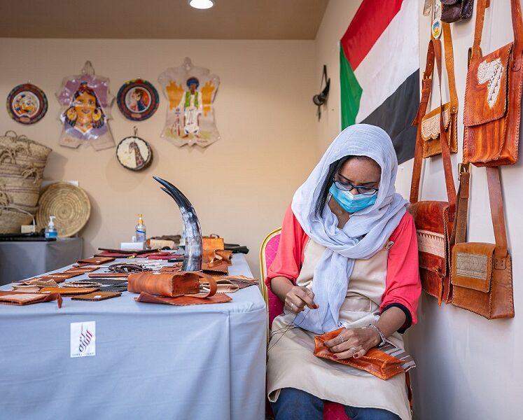 الحقائب السودانية.. حِرفة ولدت على ضفاف النيل