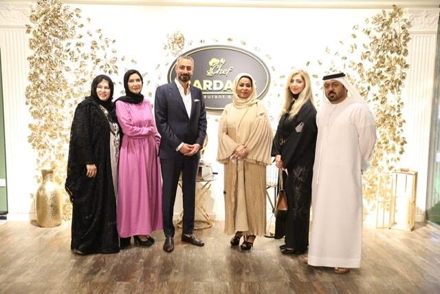 أجواء استثنائية في افتتاح مطعم الشيف بردليس في دولة الإمارات العربية المتحدة