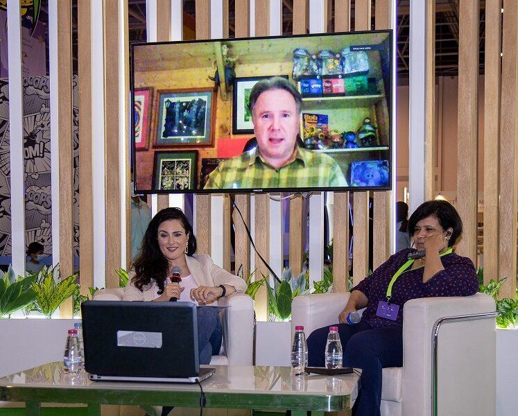 البريطاني جوبلينغ والمصرية أمل فرح: الأطفال يتعلقون بالكتب حين يشاهدون أهلهم يطالعونها
