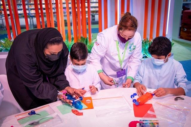 """""""الشارقة القرائي للطفل 12"""" يدمج العلوم بالفن في رحلة مدهشة للصغار"""